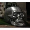 Siège de jardin  TETE DE MORT ARGENT